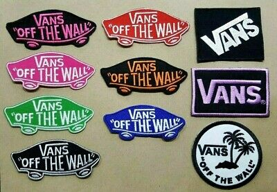 VANS OFF THE WALL SKATEBOARD SPORTS EXTREME Embroidered Iron Sew On Patch Logo