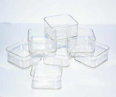 Tea light plastic candle holders x 3000 square cups