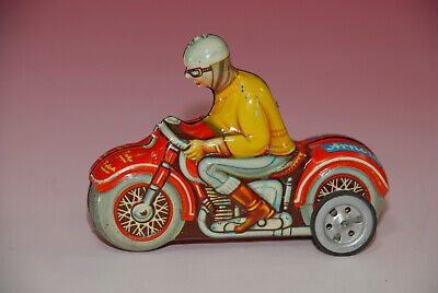 Arnold kleines Motorrad * Blech lithographiert * Made in Western Germany