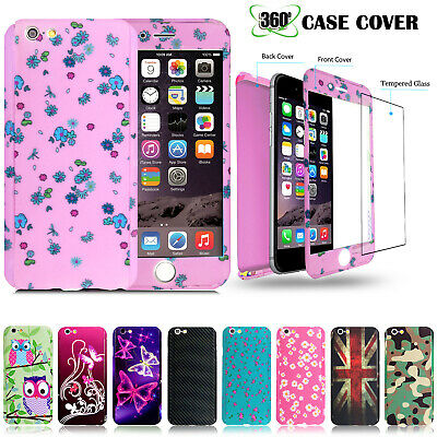 Case for Apple iPhone 6 7 8 5 SE Plus Cover 360 Luxury Thin Shockproof Hybrid