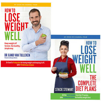 How to Lose Weight Well diet plans for healthy weight 2 Books Collection Set New