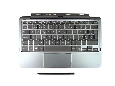 Dell Latitude 11 5175 5179 K12M Keyboard Battery NORDIC Layout Active Stylus Ref
