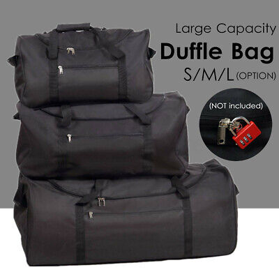 3 Size Foldable Oxford Large Duffle Bag Travel Camping Luggage Handbag