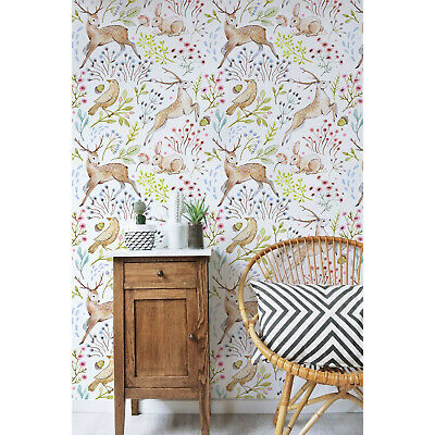 Removable Mural Floral Peel Stick Or Prepasted Wallpaper