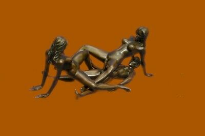 ON SALE !!! Signed Original Mavchi Every Man Dream Sexual Sex Bronze Sculpture