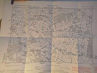 High Halden, Plurenden, Shiroak, Weald Of Kent: 6 Inch Planners Map 1870-1946
