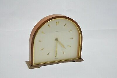 Vintage SMITHS Wooden Case 8 DAY Mantel Clock  (SB 127)