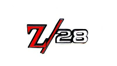 #AUSZ28Chrome Camaro  Emblem Kit Z28  91-92 Silver chrome KIT 3