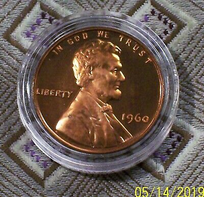 1960-P Small Date Lincoln Memorial Proof Cent ( 1 Coin ) ( Itm#8672 )