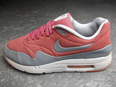sports shoes 2bfbb 214f5 Nike Air Max 1 Ultra Moire Command 90 Navigate 44 Dunkelrot Rot Grau Top  Zustand