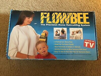 Flowbee Haircutting System - Used? Maybe New - Includes Extras