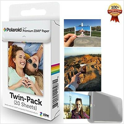 Polaroid Snap Touch Instant Cameras Zip Instant Printer Film 20 Pack New Sheets