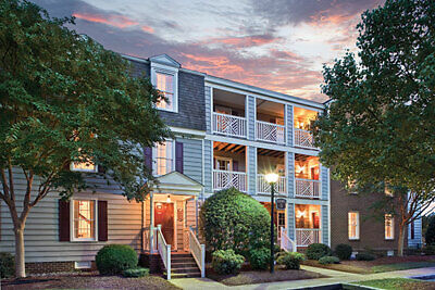 May 20-24 2-Bedroom Deluxe Condo Wyndham Kingsgate Resort Williamsburg 4 Nights