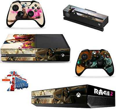 Rage 2 Xbox One *Textured Vinyl ! * Protective Skin Decal Wrap