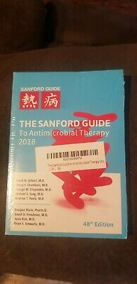 The Sanford Guide to antimicrobial therapy 2018..48th edition..READ DESCRIPTION