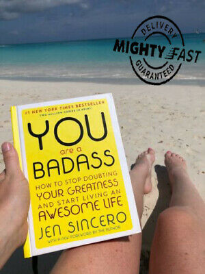 You Are a Badass: How to Stop Doubting Your Greatness (PDF) + Gift {Read Descr}