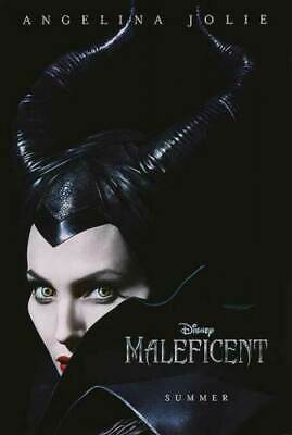 Maleficent 27x40 Original Theater Double Sided Movie Poster 2014