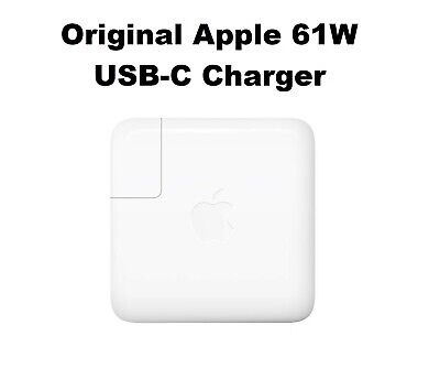"Genuine Original OEM 61W USB-C Charger for APPLE Macbook 12"" 13"" MNF72LL/A A1718"