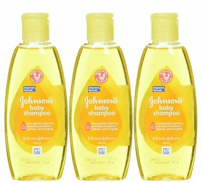 Johnson & Johnson Baby Shampoo 100 Ml (3.5 Oz) (3 Pack)