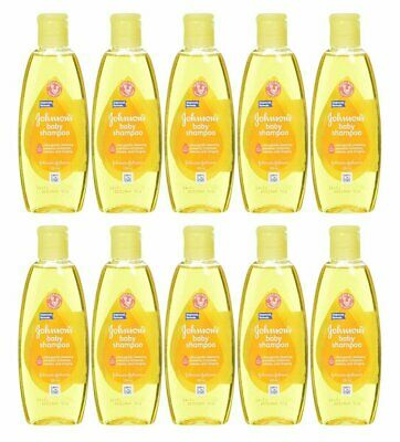 Johnson & Johnson Baby Shampoo 100 Ml (3.5 Oz) (10 Pack)
