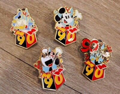 2018 Shanghai Disney Pin Trading Broche Mickey Mouse 90e Anniversaire Mystery