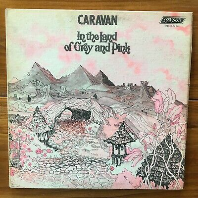 Caravan – In The Land Of Grey And Pink-Jazz Rock-Progressive Rock Vinyl LP