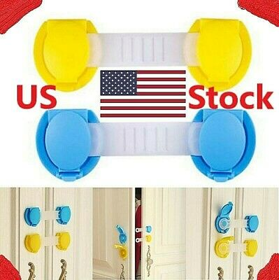 10P Plastic Baby Safety Locks Children Protection Infant Security Lock-Baby Care