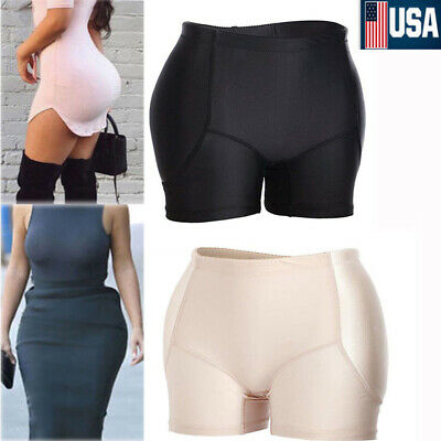 Women Padded Fake Ass Butt Hips Up Enhancer Shaper Lifter Underwear Sexy Panties