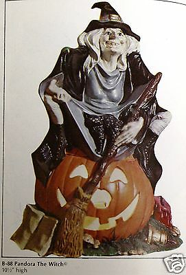 Ceramic Bisque Pandora the Witch Light Kit Byron Mold 88 U-Paint Ready To Paint