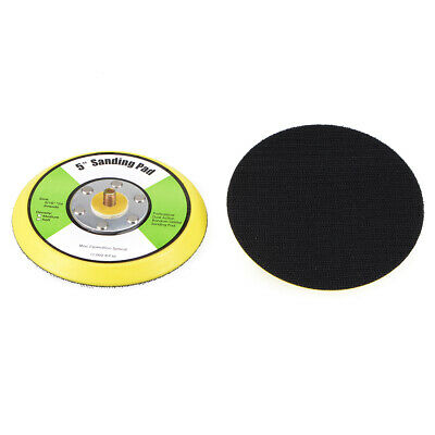 5-Inch Hook and Loop Sanding Pad, 5/16-Inch*10mm Thread 2 Pcs