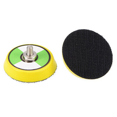 2-Inch Hook and Loop Sanding Pad, M6*10mm Thread, Sandpaper Backing Plate 2 Pcs