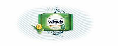 Cottonelle GentlePlus Flushable Wipes with Aloe Vitamin E, 42 Count (Pack of 6