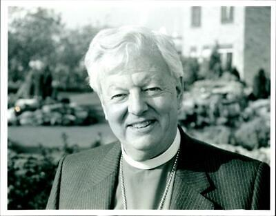Rt Rev David Jenkins, Bishop of Durham - Vintage photo