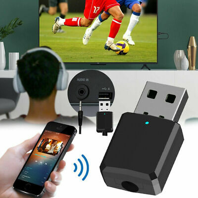 2 in1 Digital USB Bluetooth Wireless Audio Transmitter Receiver Music Adapters