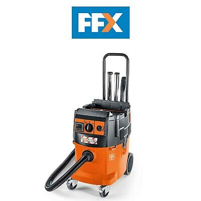 240V 35L Dust Extractor with Auto Clean Filter Dustex 35 LX AC fein