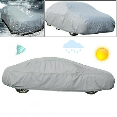 All Weather Large Family Car Cover Rain Sun UV Rays Cover Scratch  Proof Full UK