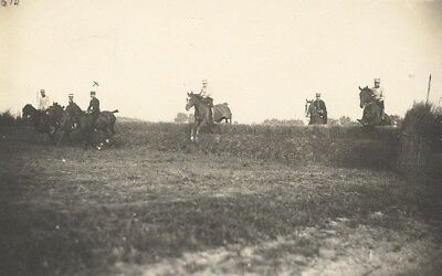 Saumur Military French Horse Instantaneous Photo 1910 Cavalerie Chevaux Breil