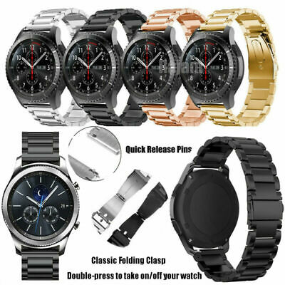 Stainless Steel Strap Wrist Band For Huawei Watch GT 22mm Replacment Bracelet