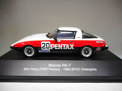 Mazda Rx-7 Will Percy 1980 Btcc Champion British Touring Atlas #11 1:43