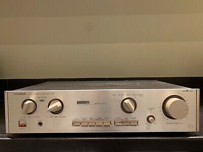 LUXMAN L-190 VINTAGE STEREO AMPLIFIER - MADE IN JAPAN excellent condition!