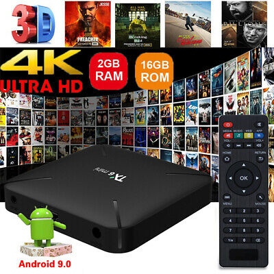 TX6 Mini TV BOX SMART Android 9.0 4K WiFi Quad Core 3D Media Player 2GB+16GB HOT