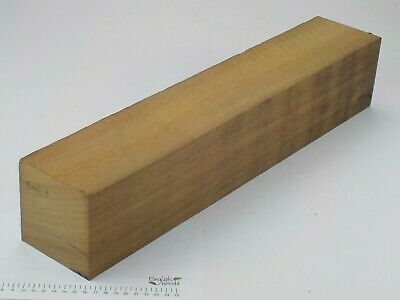 Huge Iroko wood turning or carving spindle blank.  100 x 100 x 535mm.  3146A