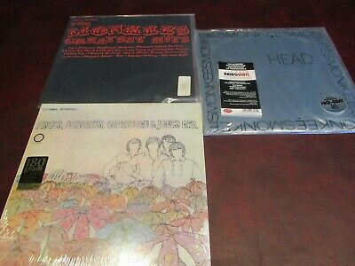 Monkees Rare 1996 1St Edition 180 Gram Limited 2 Lp Set + 180 Gram Bonus Lp Set