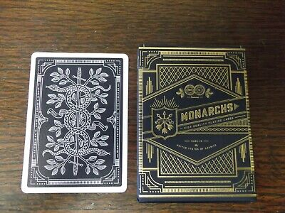 """SUPERB PACK """"Bicycle Type - Monarchs (Dark Blue Version)"""" Pack of Playing Cards"""