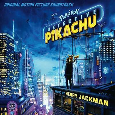 Pokemon Detective Pikachu (Original Soundtrack) - Henry Jackman (NEW CD)