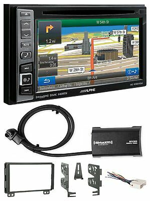 Alpine Bluetooth Receiver w/Navigation/GPS/DVD/XM For 2004-05 Lincoln Aviator