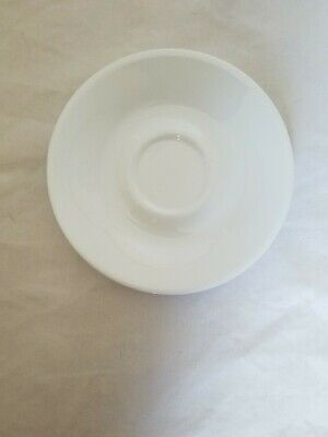 1 Corelle Livingware By Corning Winter Frost White Saucers Only