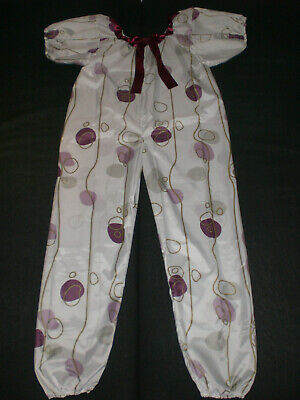 ADULT BABY POLY PVC LONG BLOOMER BODY SPIELANZUG SUIT ROMPER Size L-XL