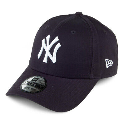 New Era 9FORTY New York Yankees Baseball Cap - MLB League Basic - Navy Blue