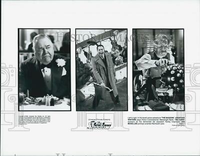 "1994 Press Photo Jonathan Winters, Tim Curry, Ian McKellen ""The Shadow"""